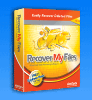RECOVER MY 3.9.8 TÉLÉCHARGER FILES