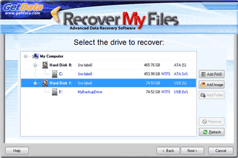 recover my files free  software